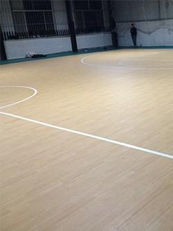 塑胶篮球地板